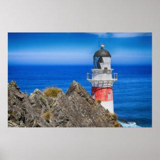 Cape Palliser New Zealand Lighthouse Poster