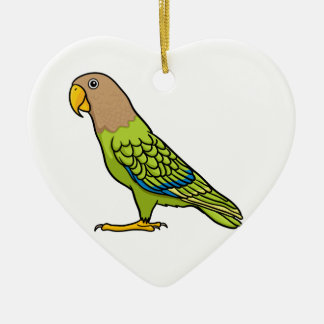 Cape Parrot Ceramic Ornament