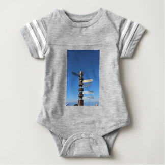 Cape Point South Africa Baby Bodysuit