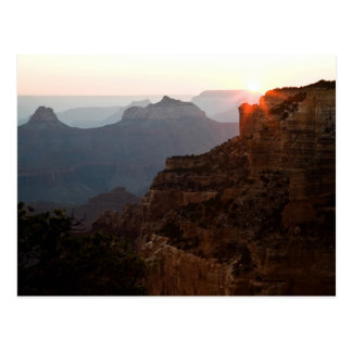 Cape Royal Sunset Postcard