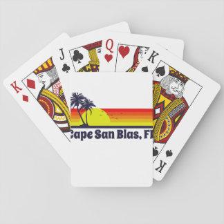 Cape San Blas Florida Playing Cards