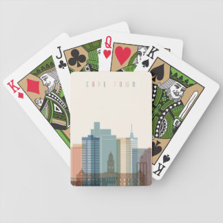 Cape Town, Africa | City Skyline Bicycle Playing Cards