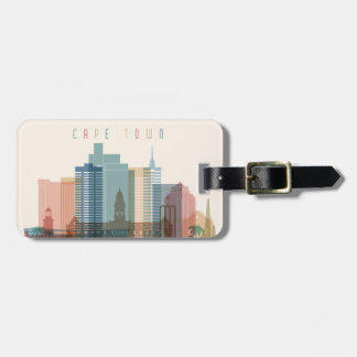 Cape Town, Africa | City Skyline Luggage Tag