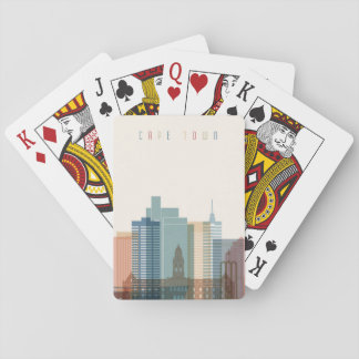 Cape Town, Africa | City Skyline Playing Cards