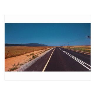 Cape Town Road Landscape Postcard