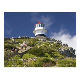 Cape Town, South Africa. A lighthouse on the Postcard