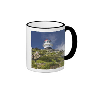 Cape Town, South Africa. A lighthouse on the Ringer Mug
