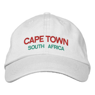 Cape Town South Africa Custom Hat Embroidered Baseball Cap