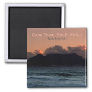 Cape Town South Africa Photo Souvenir Magnets