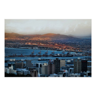 Cape Town South Africa Print
