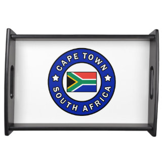 Cape Town South Africa Serving Tray