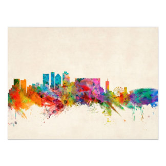 Cape Town South Africa Skyline Cityscape Photographic Print