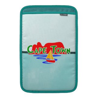 "Cape Town Vertical 11"" Macbook Air Sleeves"