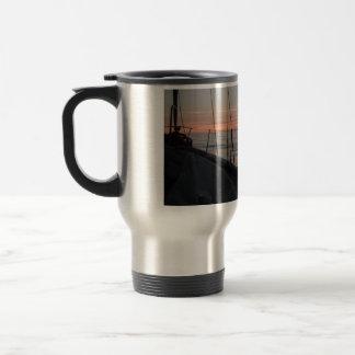Cape Trafalgar messing about on boats mug