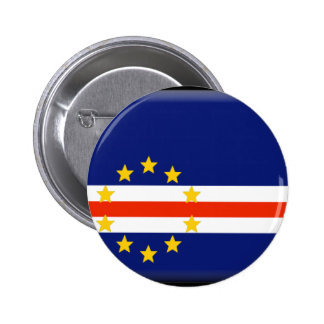 Cape Verde Flag 6 Cm Round Badge