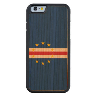 Cape Verde Flag Carved Cherry iPhone 6 Bumper Case
