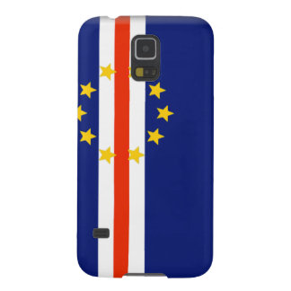 Cape Verde Flag Case For Galaxy S5