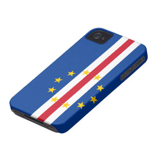 Cape Verde Flag iPhone 4 Case