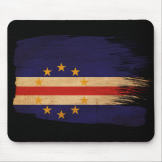 Cape Verde Flag Mouse Pad