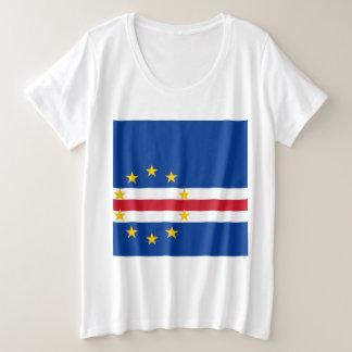 Cape Verde Flag Plus Size T-Shirt