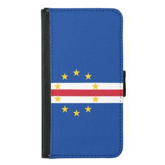 Cape Verde Flag Samsung Galaxy S5 Wallet Case