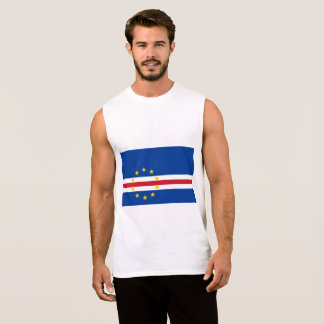 Cape Verde Flag Sleeveless Shirt