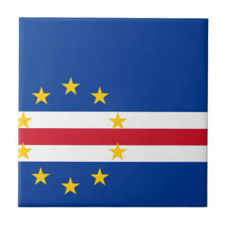 Cape Verde Flag Tile