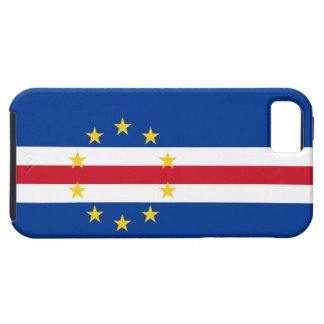 Cape Verde Flag Tough iPhone 5 Case