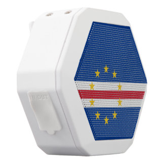Cape Verde Flag White Bluetooth Speaker