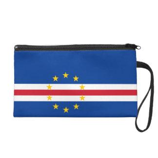 Cape Verde Flag Wristlet