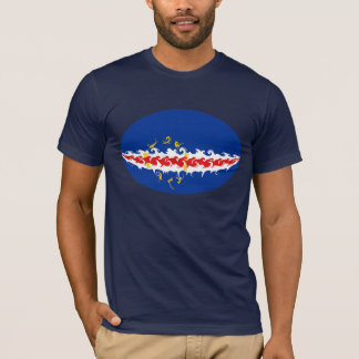 Cape Verde Gnarly Flag T-Shirt