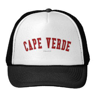 Cape Verde Trucker Hats
