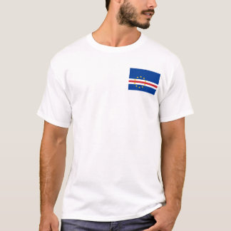 Cape Verde National World Flag T-Shirt