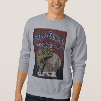 Cape Vincent Black Bass  Sweat Shirt