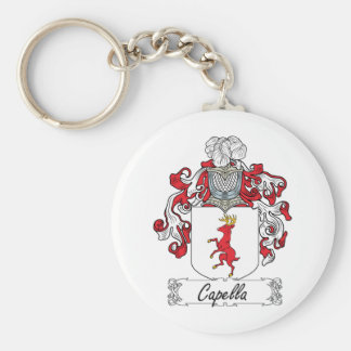 Capella Family Crest Key Ring
