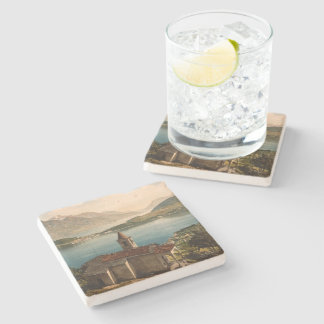 Capello St Angelo, Lake Como, Lombardy, Italy Stone Coaster