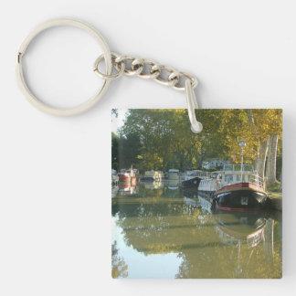 Capestang, canal du Midi Key Ring