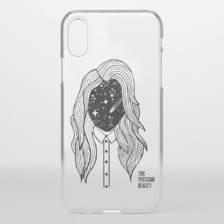 Capinha of cellular Peculiar The Beauty iPhone X Case