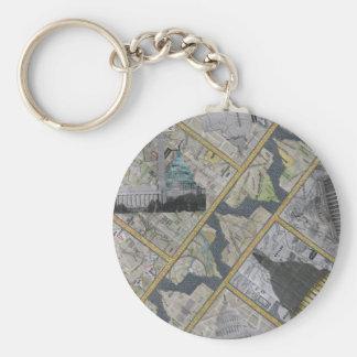 Capital City Keychain