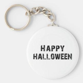 Capital Grunge Happy Halloween Basic Round Button Key Ring