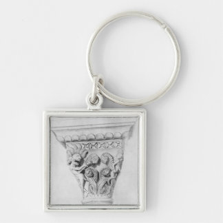Capital illustrating the vice of despair keychain