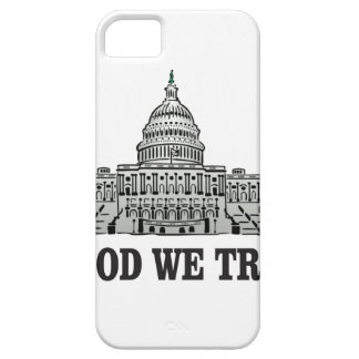 capital in god we trust iPhone 5 cover