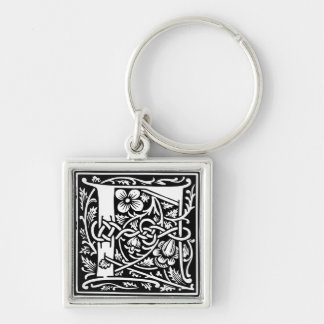 Capital Letter F Keychain