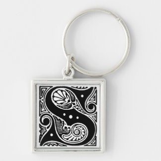 Capital Letter 'S' - Keychain