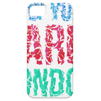 Capital New York Paris London typography, t-shirt Barely There iPhone 5 Case