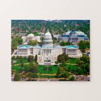 Capital of Washington. Jigsaw Puzzle