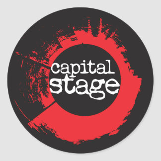Capital Stage Sticker