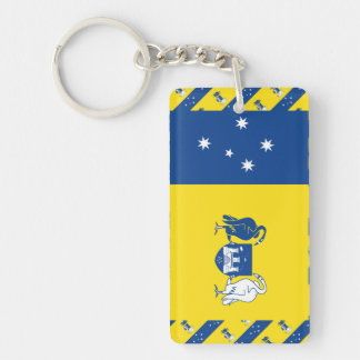 Capital Territory Flag Single-Sided Rectangular Acrylic Keychain