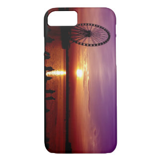 Capital Wheel at Sunset iPhone 7 Case