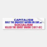 CAPITALISM BUILT THE USA!  SOCIALISM KILLED USSR!